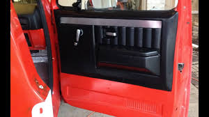 100 84 Chevy Truck Parts PART 1 C10 Door Panels Install New Aftermarket 19 Chevy