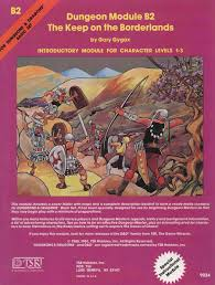 This Was My First Dungeon Module TSR 9034 The Keep On Borderlands For Levels 1