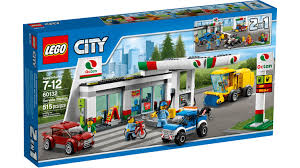 100 How To Build A Lego Fire Truck Review LEGO 60132 Service Station Jays Brick Blog