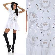 Vintage Boho Lace Dress