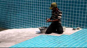 how to lay swimming pool tiles thethreetouch asia pacific co