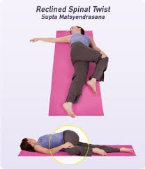 How to Do Reclined Spinal Twist in Yoga