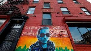 Joe Strummer Mural East Village by City Living South Tompkins Square Park Newsday