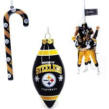 Pittsburgh Steelers Christmas Tree Ornament Set