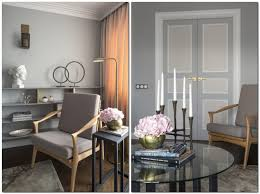 6 Gray Pink Beige French Style Living Room