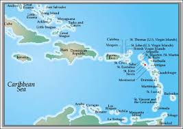 Nevis West Indies Is Located At 1710N 6235W