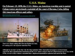 Sinking Of The Uss Maine Newspaper by Hogan U0027s History American Imperialism Updated 13 Apr 2015