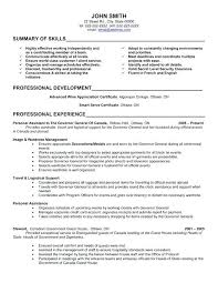 Resume Examples For Office Assistant Example Sample Administrative Entry Level
