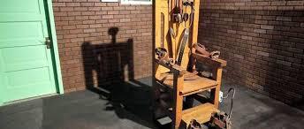 la chaise electrique états unis peine de mort le retour des bonnes vieilles