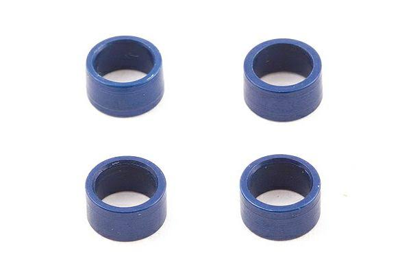 Team Associated AS3965 - TC3 Axle Bearing Spacers Blue (4)