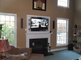 Cute Living Room Ideas For College Students by Living Room Ideas With Tv Over Fireplace Family Unique Decorating