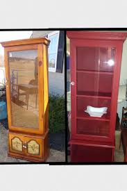 Wooden Gun Cabinet With Etched Glass by Gun Cabinet Redo With Chalk Paint Can U0027t Wait To Do This Project