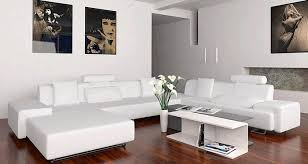 living room with white sectional sofa modern home interiors