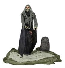 Halloween Coffin Prop by Graveyard Snatching Reaper Animated Prop 375391