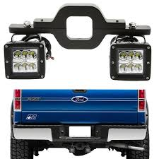100 Hitches For Trucks Fit D F150250350 Truck SUV Backup Reverse 3 Tow Hitch 24W LED
