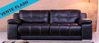 vente flash canapé les canapés cuir de la semaine en vente flash canapé cuir