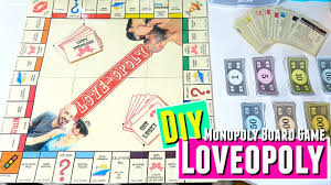 Lovopoly Board Game DIY Anniversary Gift For Him Gifts Boyfriend HOW TO Monopoly
