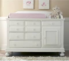 creations baby summers evening combo dresser in rubbed white