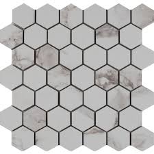 Home Depot Merola Hex Tile by Hexagon Tile Flooring The Home Depot