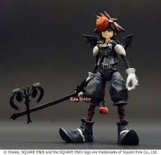Halloween Town Keyblade by Kingdom Hearts Play Arts Halloween Town Sora Action Figure By