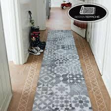 details zu moderne läufer flur grau maiolica lisboa korridor breite 50 200 cm teppiche