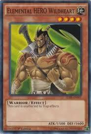 amazon com yu gi oh elemental hero wildheart sdhs en011