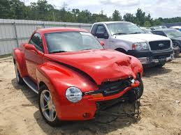 Salvage 2003 Chevrolet SSR Truck For Sale