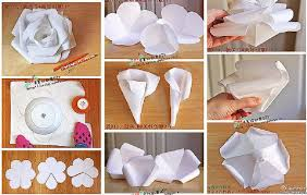 Paper Flower Tutorial Step By Origami Easy Youtube