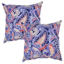 Outdoor Cushions Sunbrella Home Depot by Paisley Outdoor Pillows Outdoor Cushions The Home Depot