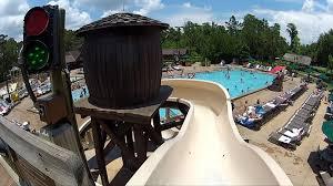 Disney s Fort Wilderness Meadow Swimming Pool Slide POV Ride