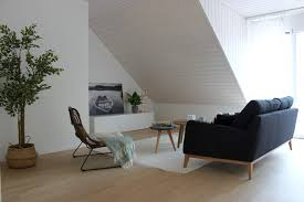 scandinavian style living room by wohnvision homestaging