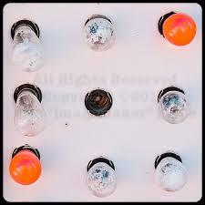las vegas wall light bulb sign orange bulbs white