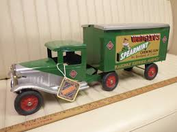 1930s BUDDY L Railway Express Truck Pressed Steel Toy Wrigley's ...