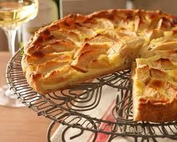 recette dessert aux pommes recette tarte alsacienne aux pommes