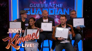 Cast Of Halloween 4 by The Cast Of Guardians Of The Galaxy Vol 2 Plays U0027guess The