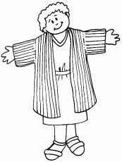 Joseph Coat Coloring Pages