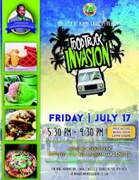100 Miami Food Trucks Schedule Truck Invasion 71715 Live Healthy Gardens