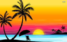 Beach Sunset Wallpaper Hq Images 12 HD Wallpapers