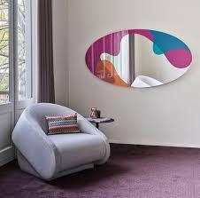 casa padrino designer wandspiegel mehrfarbig 94 x 2 5 x h 175 cm moderner design spiegel luxus kollektion