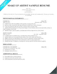 Best Resume Sample Format Cosmetology Free Download Rh Businessdegreeonline Co Putting Education On Listing Examples