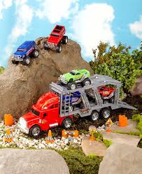 100 Monster Truck Verizon Center 14Pc Hauler Playset LTD Commodities