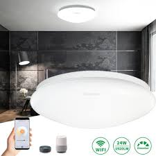24w led deckenleuchte smart wifi dimmbar deckenle wohnzimmer le licht kompatibel mit