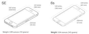 Apple s iPhone SE vs iPhone 6s Does price outweigh size