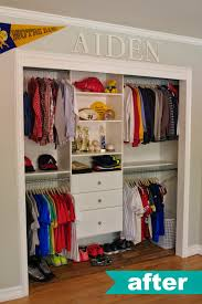 Closet After6 Kids Organization Ideas Aftery 0f