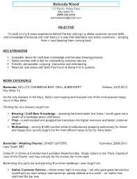 Bartender Resume Examples Template 8 Sweet Idea Bartending 2 Awesome
