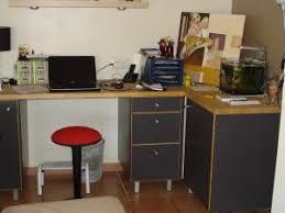 meuble bureau d angle bureau d angle ikea dessus en bois naturel par nini vide