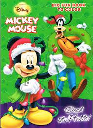 Amazon DisneyR Mickey Mouse Christmas Coloring Book Set 2 Books