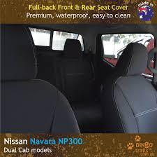 FULL-BACK Front & REAR Seat Covers (NN15FB+NN18R) - Dingo Trails