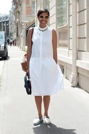 7 ways to wear a little white dress in the spring and summer glamour