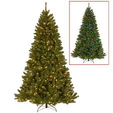 Unlit Artificial Christmas Trees Made In Usa by Home Accents Holiday 7 5 Ft Unlit Wesley Mixed Spruce Artificial